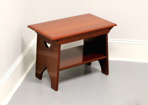 DAVIS CABINET Co Solid Cherry Country Style Small Bench