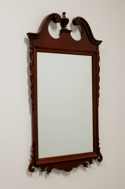 Vintage 20th Century Mahogany Chippendale Style Mirror