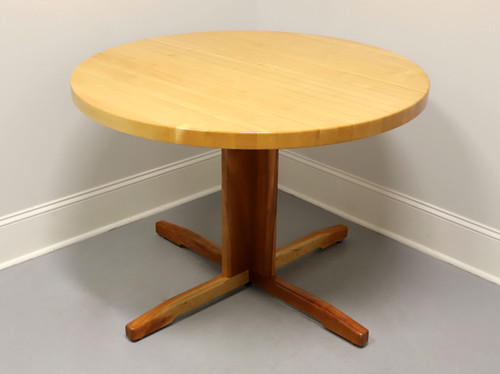 WA Mitchell of Maine Butcher Block Round Dining Table