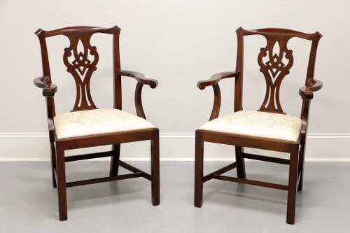 HENKEL HARRIS Mahogany Dining Armchairs - Style 101A Finish 29 - Pair