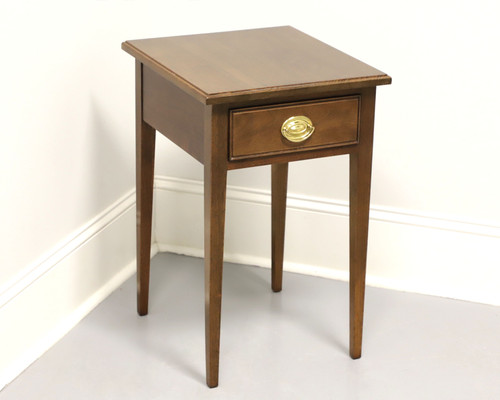 Vintage Walnut Traditional Accent Table by Waterford Furniture
