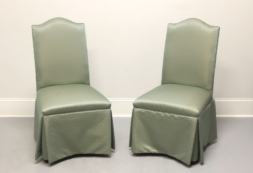 Transitional Style Parsons Chairs by FAIRFIELD - Pair