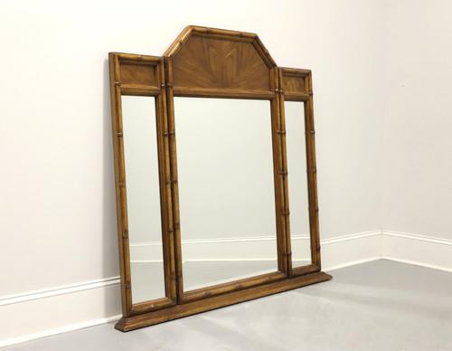 BURLINGTON HOUSE Asian Faux Bamboo Dresser Mirror