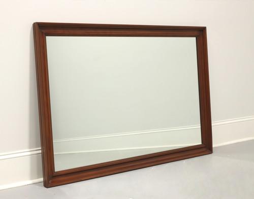SOLD - HENKEL HARRIS Solid Black Cherry Rectangular Wall Mirror - Style 125 Finish 24
