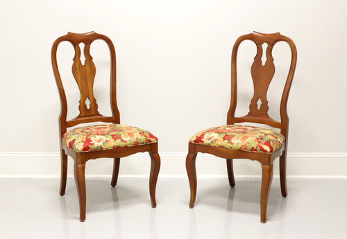 ETHAN ALLEN French Country Dining Side Chairs - Pair A