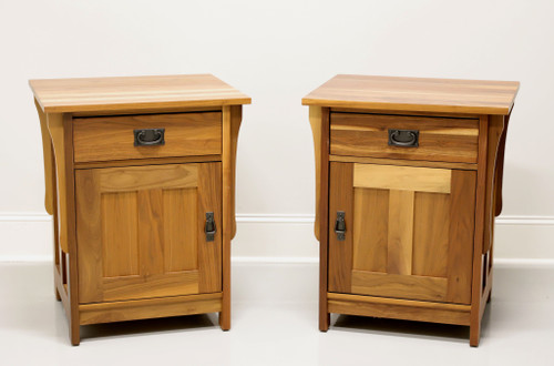 NOBLE Furniture Solid Cedar Mission Arts & Crafts Nightstands - Pair