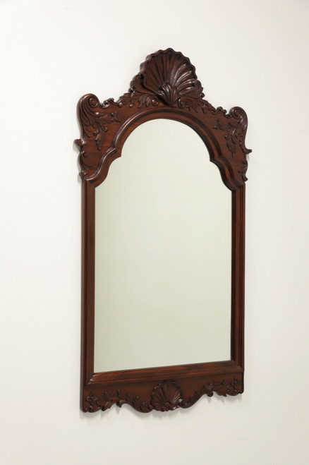 Vintage Carved Mahogany Chippendale Mirror