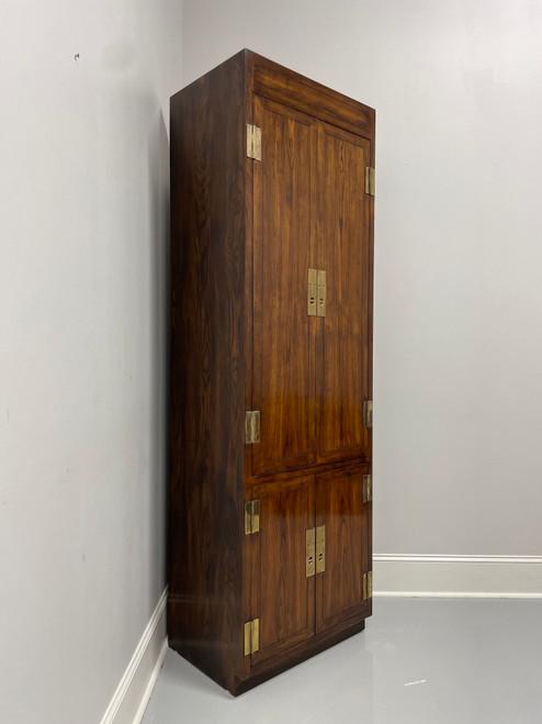 HENREDON Scene One Campaign Style Armoire Cabinet - D