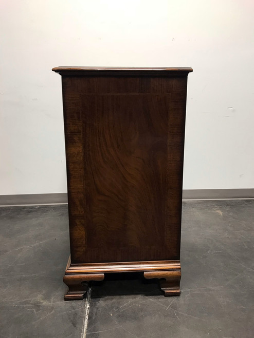 ... CENTURY FURNITURE Grand Rapids Chippendale Inlaid Walnut 2 Over 3 Chest  ...
