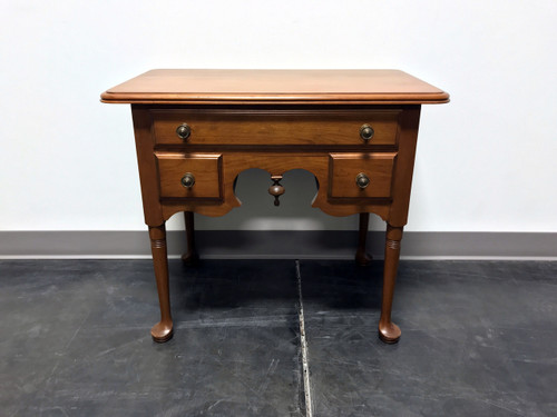 PENNSYLVANIA HOUSE Cherry Queen Anne Diminutive Lowboy Chest Nightstand