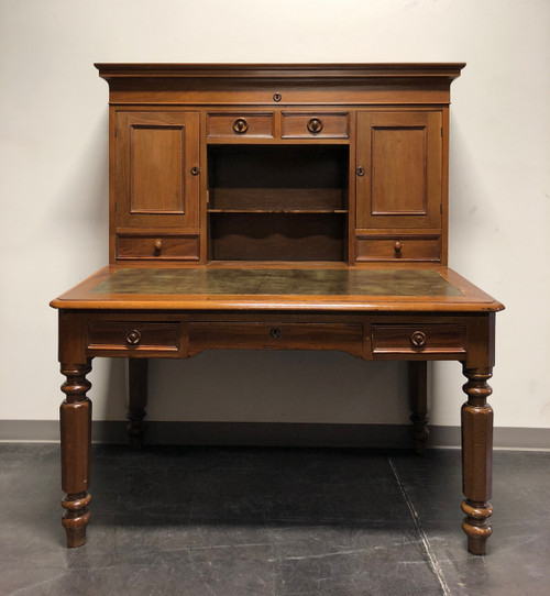 ... 19th Century Antique Walnut Railroad Paymaster Desk ... - 19th Century Antique Walnut Railroad Paymaster Desk - Boyd's Fine