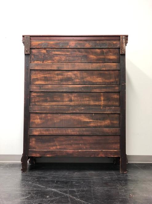 ... Antique Mahogany China / Curio / Liquor Cabinet with Paw Feet ... - Antique Mahogany China / Curio / Liquor Cabinet With Paw Feet