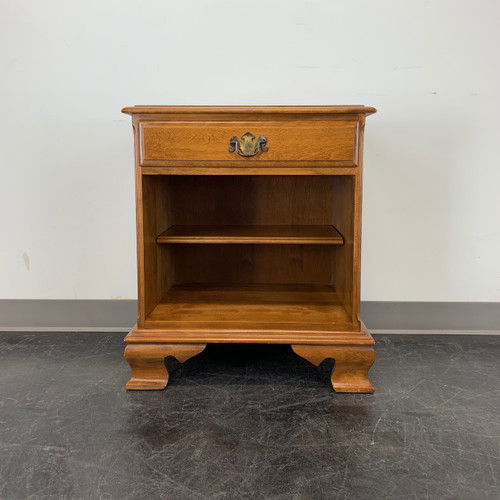 S0LD OUT - ETHAN ALLEN Colonial Heirloom Nutmeg Maple Nightstand