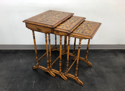 MAITLAND SMITH Faux Bamboo Nesting Tables - Set of 3