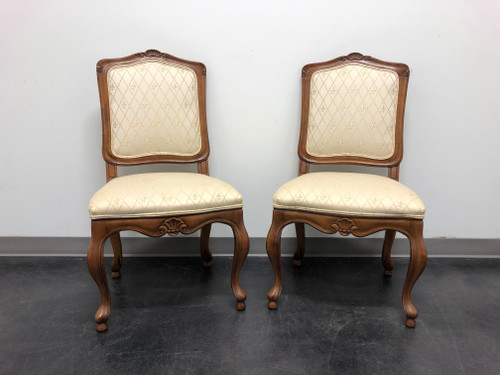 BAKER French Country Dining Side Chairs - Pair A