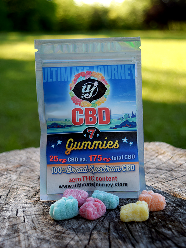 CBD Gummies- 25 mg-7 count