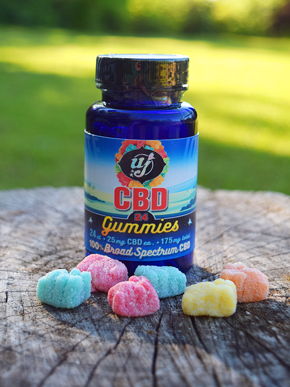 CBD Gummies- 24 count bottle