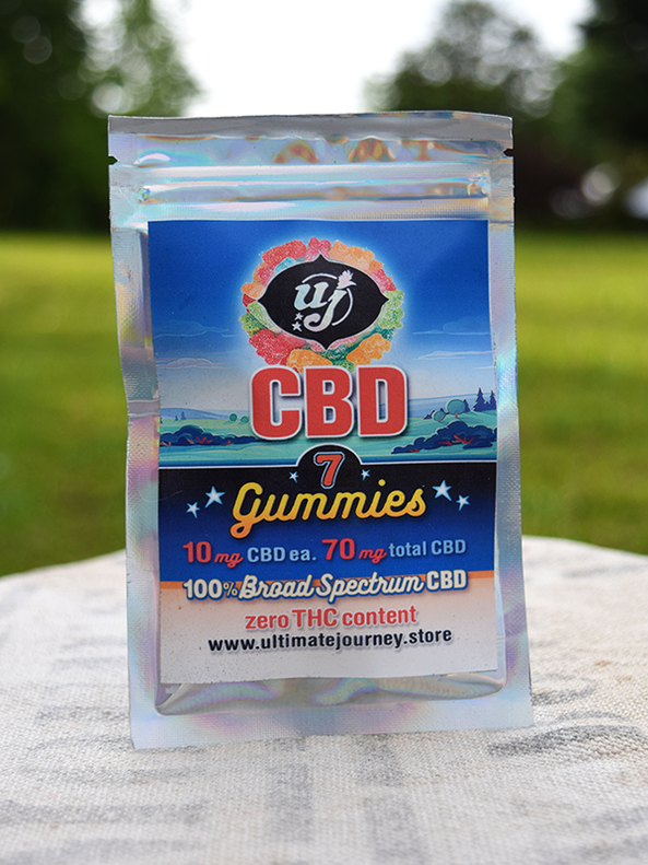 CBD Gummies- 10 mg-7 count