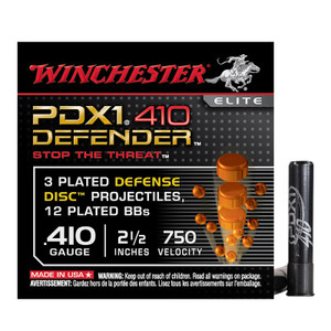 """Winchester 410 2.5"""" 000/12BB PDX1  S410PDX1"""