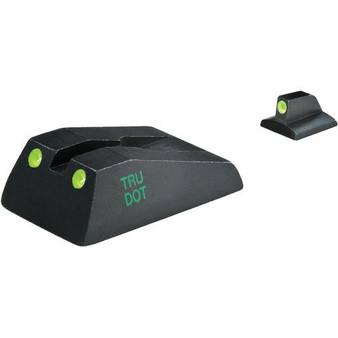 Meprolight Tru-Dot Green Fixed Night Sight Set for Ruger SR9/9C/40/40C Series