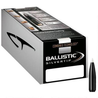 Nosler Combined Technology Ballistic Silvertip Hunting Bullets 243 Caliber, 6mm 95gr Boat Tail per 50