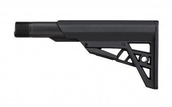 ATI TactLite AR-15 Six-Position Commercial Stock In Black with Commercial Buffer Tube