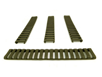 Rubber Rail Cover OD Per 4