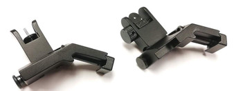 AR15 45 Degree Flip Up Offset Sights