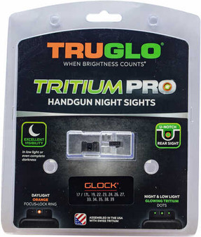 Truglo Tritium Pro Glock 19/17/26/19X/45 Night Sights