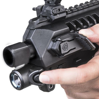 CAA Integral Front Flashlight