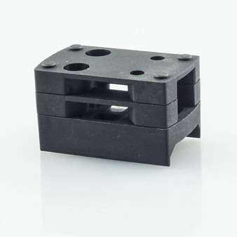 Shield SMS/RMS Picatinny Mount with Triple Height Spacers