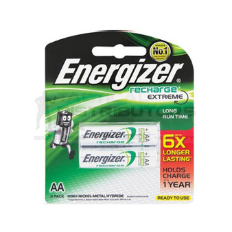 Energizer Rechargeable AAA Batteries Pack of 2 2300mAh