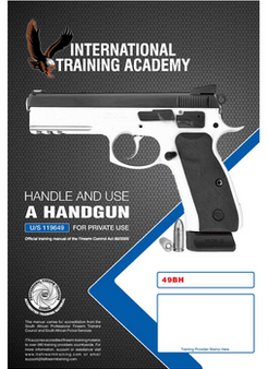 Handle and Use of a Handgun (U/S 119649)