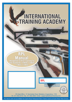 RPL (Recongnition Of Prior Learning) Manual (Additional Firearm)