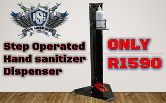 Step Operated Hand sanitizer Dispenser R1590