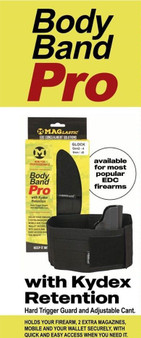 Maglastic Body bands PRO with Kydex holster insert
