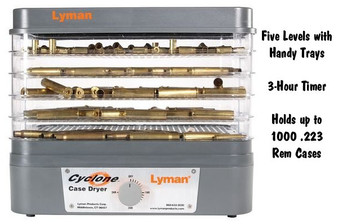 Lyman Cyclone Case Dryer