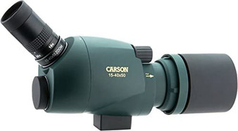 Carson SS-550 Backcombo 15-40x Power 50mm Spotting Scope