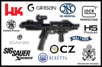 IMI Kidon™ – Pistol Conversion Kit with Folding Stock (Adaptor to be added R1295-R2100)