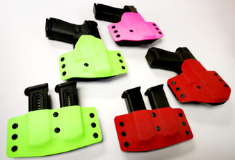 Reaper Custom Range Kit Colour OWB Holster with Double Mag Pouch