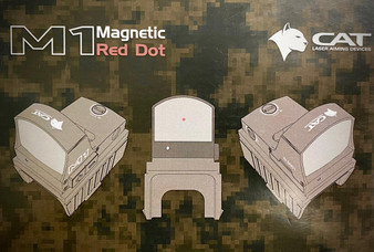 CAT M1 Magnet Red Dot