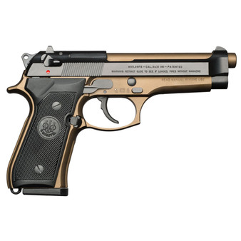 Beretta 92FS Burnt Bronze 9mm 15rd Pistol