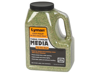 Lyman Corncob Media Green With Easy Pour Handle 6 lbs (New Formula)