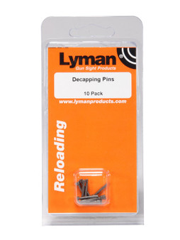 LYMAN DECAPPING PINS - PKG OF TEN
