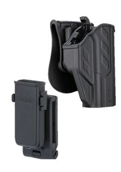 Cytac CZ P10C Combo thumb Smart Holster with universal Single mag Pouch