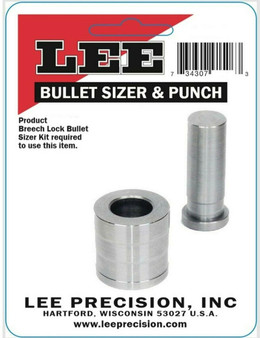 Lee Bullet Sizer and Punch .357
