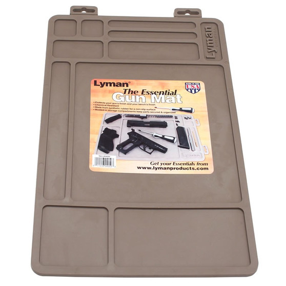 Lyman Essentials Gun Maintenance Mat Synthetic Rubber