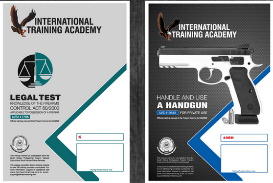 Handle and Use of a Handgun (U/S 119649) & Knowledge of the Firearms Control Act 60/2000