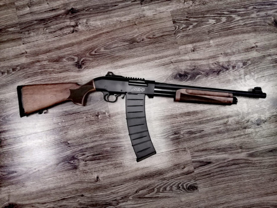 MHP-005 Pump Action 12GA Shotgun Wood