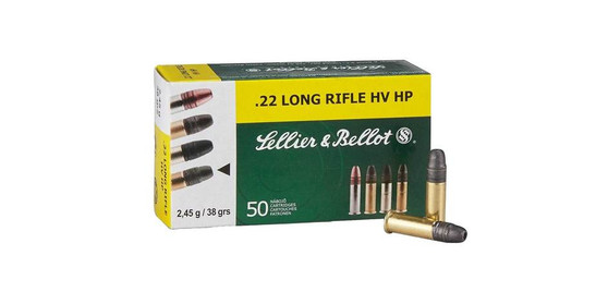 Sellier & Bellot HV HP .22 per 50